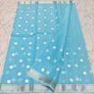 Kota doria mix cotton embroidary saree